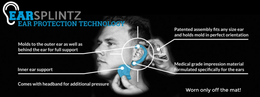 earsplintz cauliflower ear prevention and treatment diagram